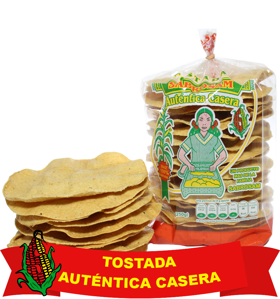 Tostada Autentica Casera