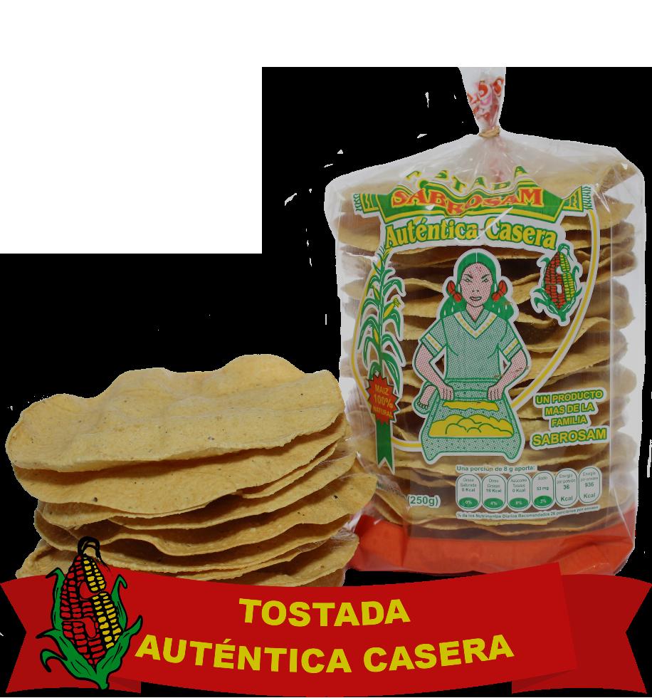 Tostada Autentica Casera2