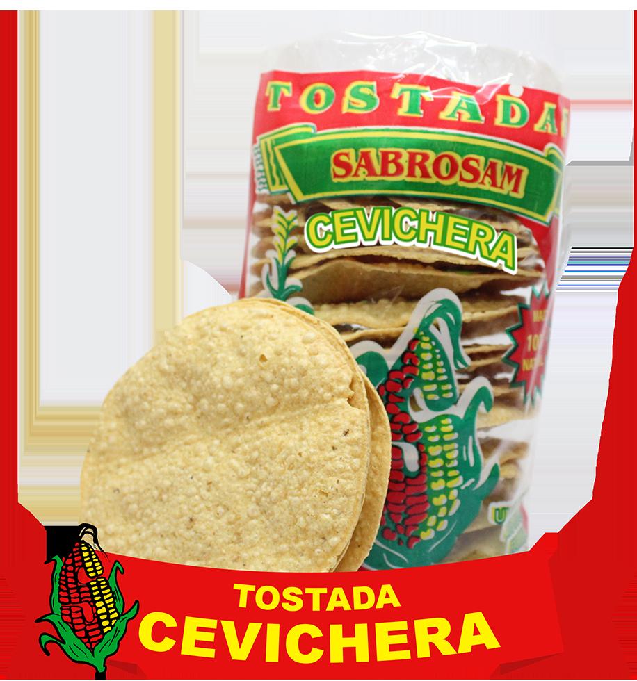 Tostada Cevichera