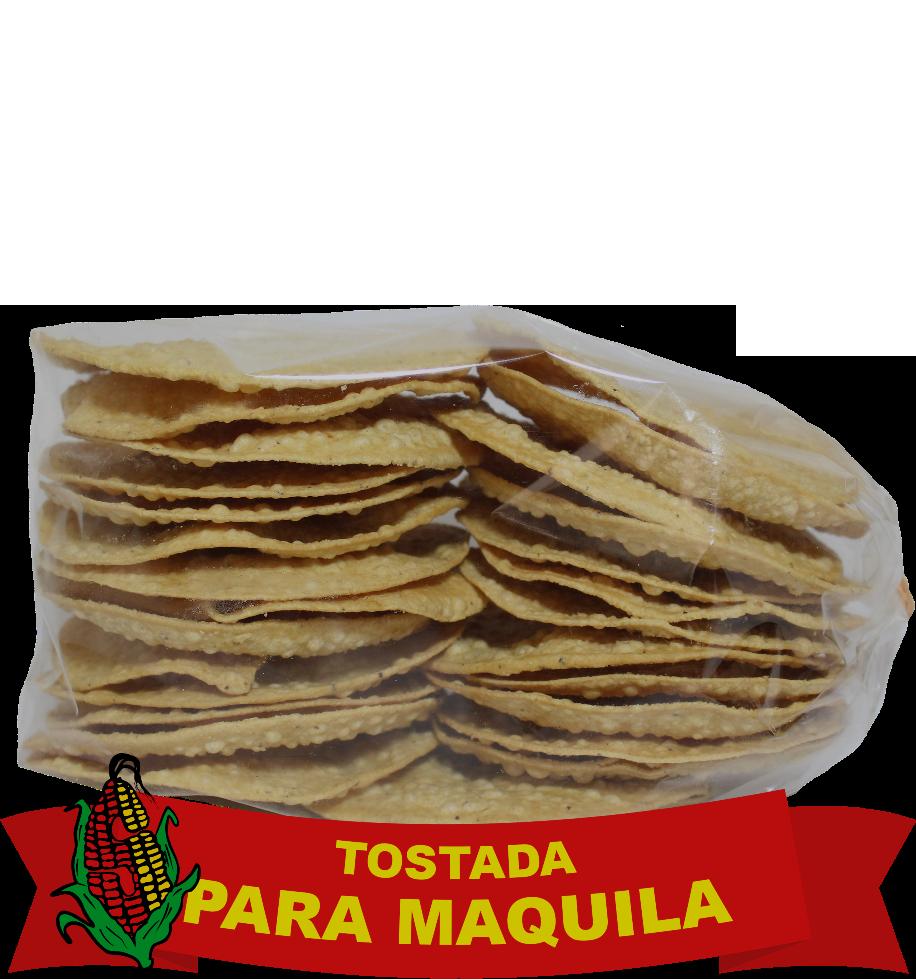 Tostada para Maquila2